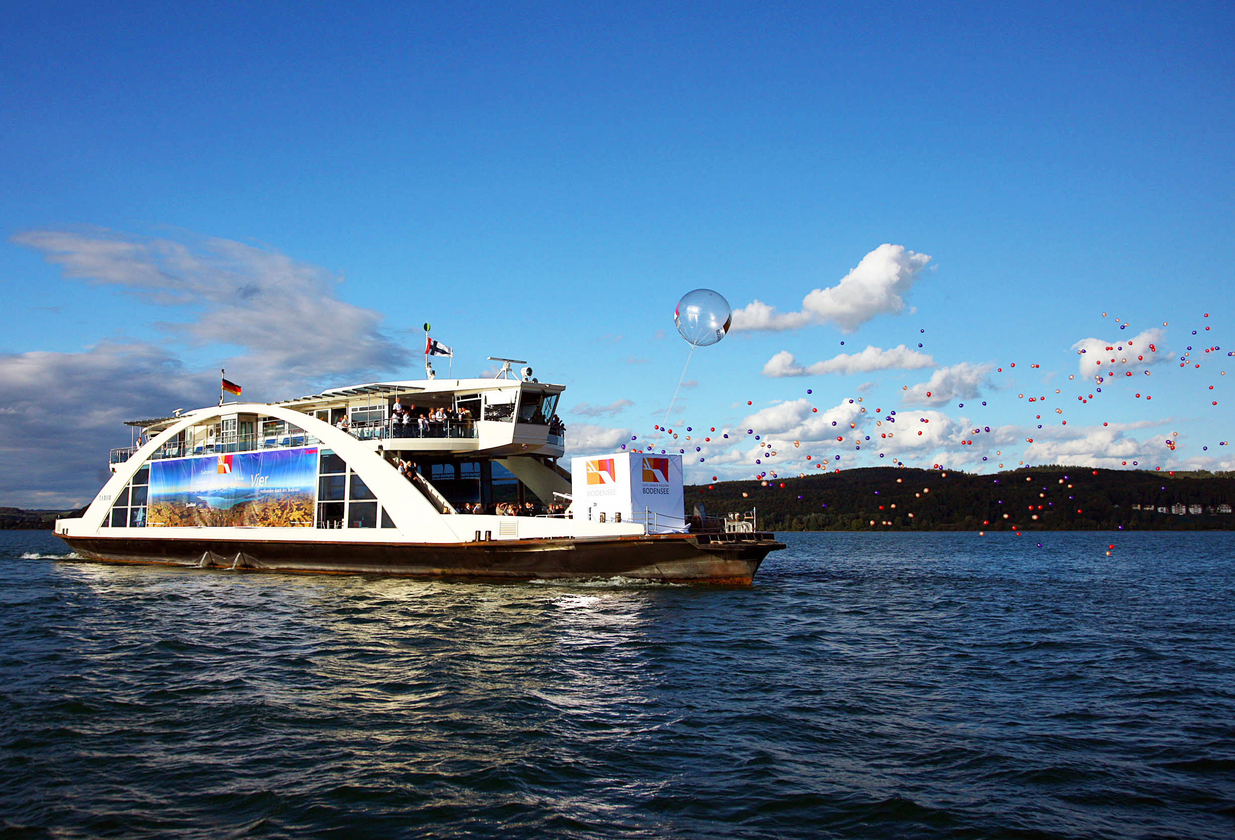 Ferry on Lake Constance